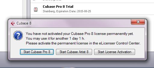 cubase 8.5 trial activation code